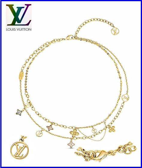 Louis Vuitton Necklace 2020 Blooming Strass