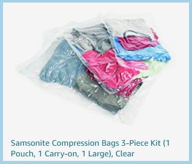 Luggage Samsonite Compression Bags