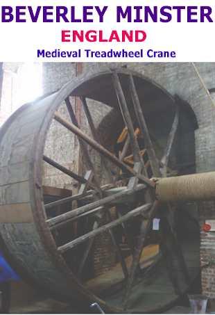 beverly Minster Treadweel crane England