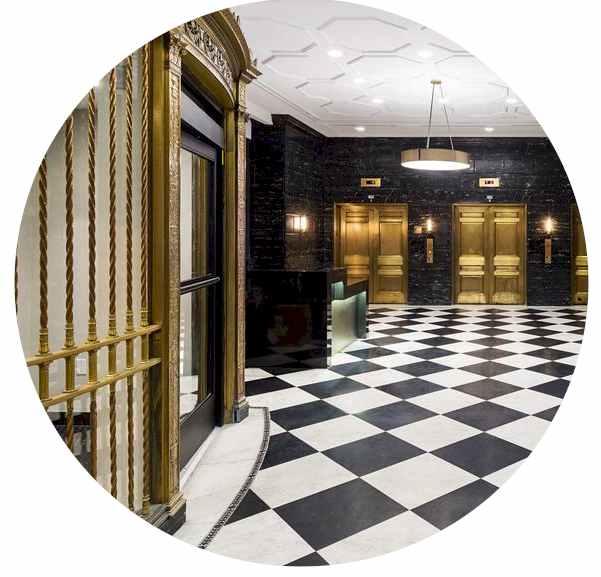 Hall of NYC Hotel Hyatt House Jersey City
