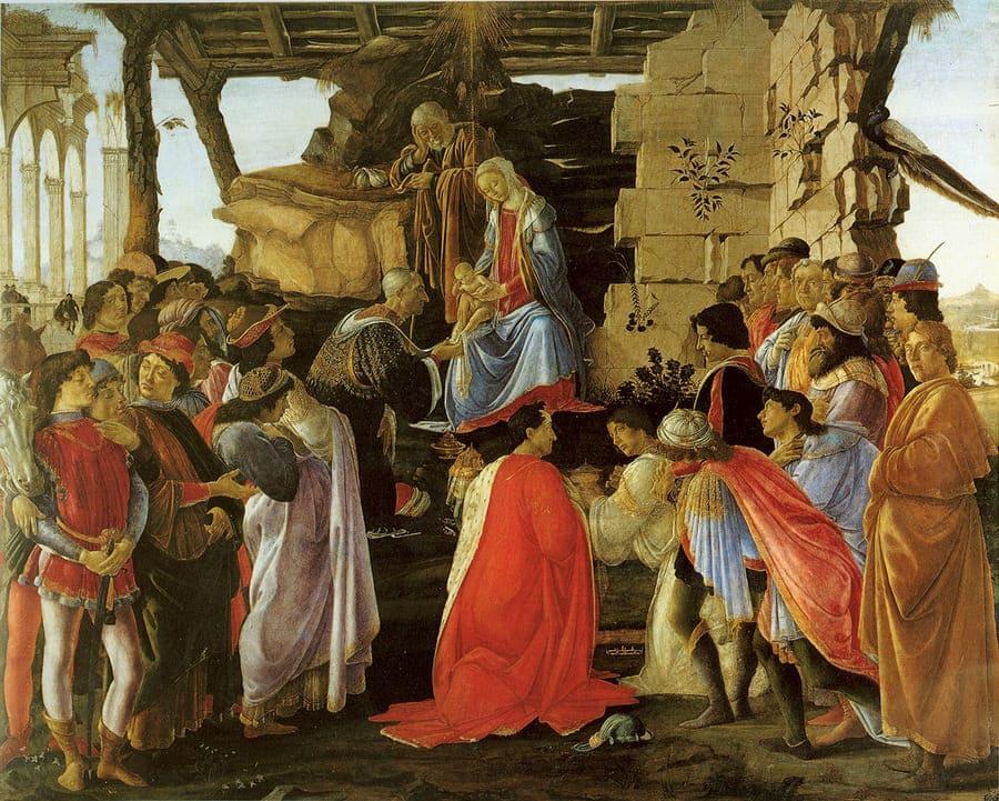 Adoration of the Magi (Botticelli, 1475) - The Grand Tour - 18th century travel