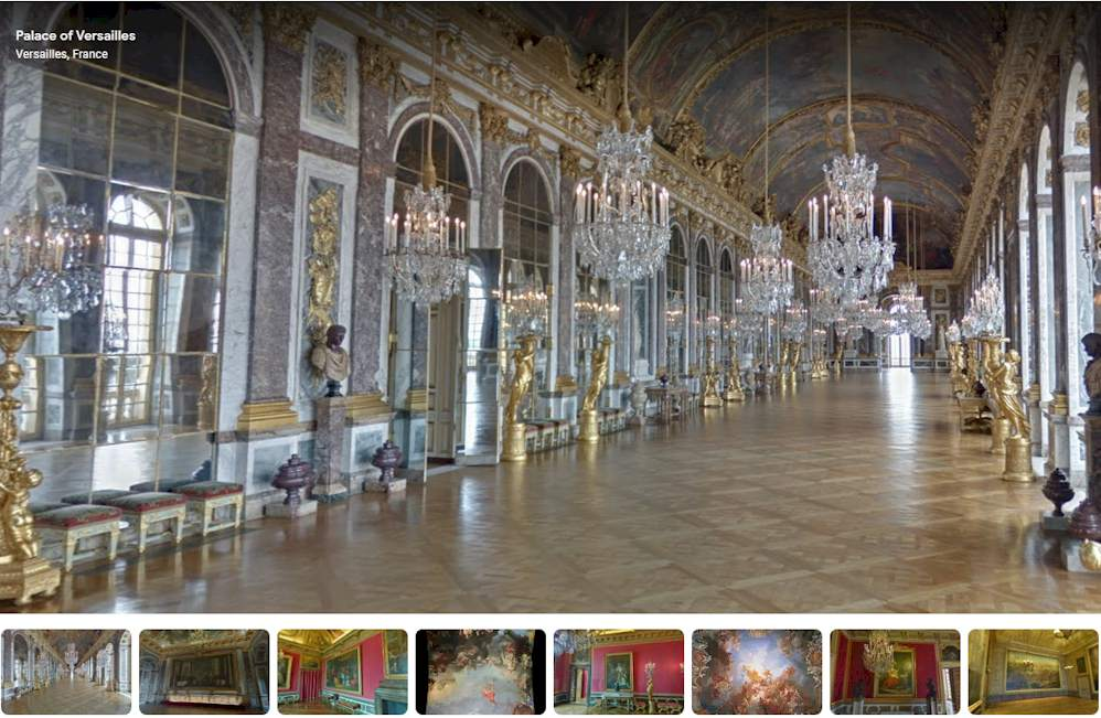 History of Tourism: The Grand Tour 17th to 18th century - #Versailles Palace - France