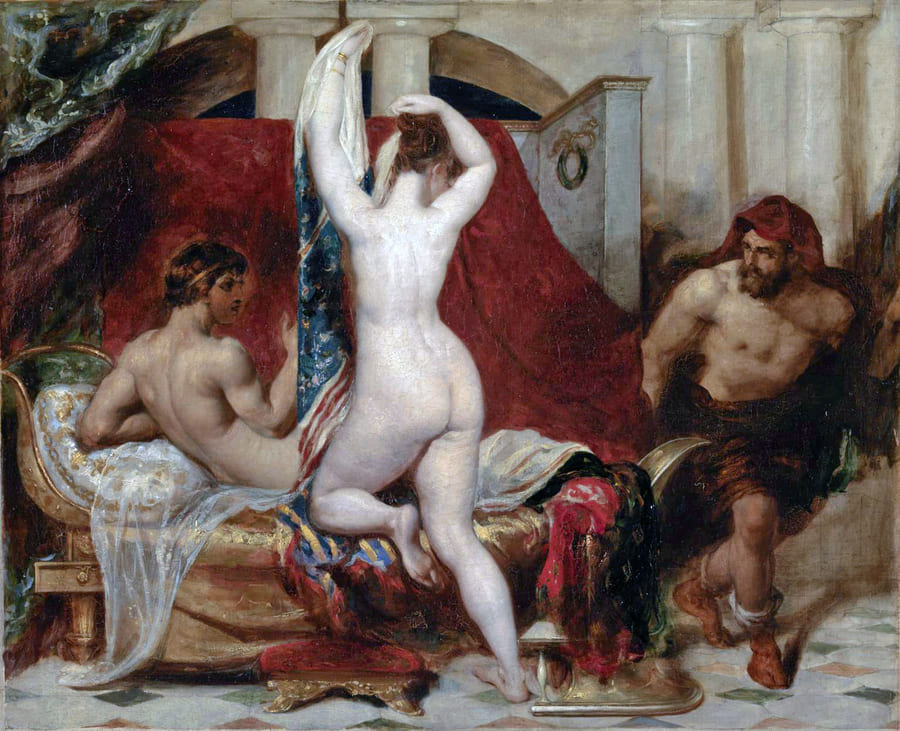 Candaules, King of Lydia - Nude Artworks on Tate Museum