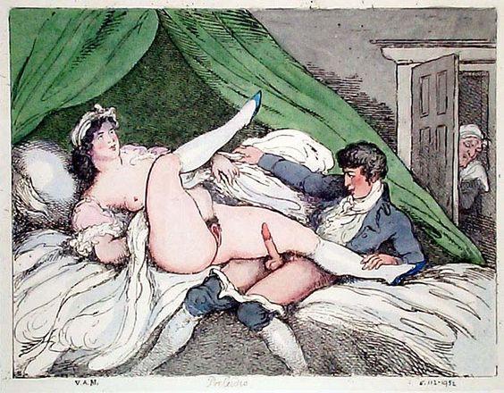 Thomas Rowlandson Nude Painting & Porn Draws