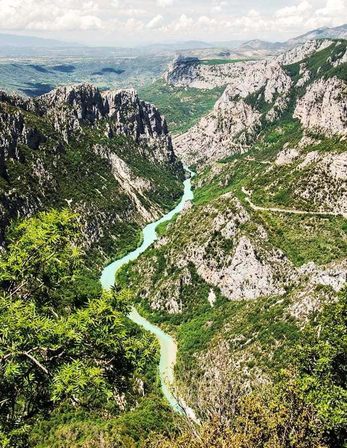 History of Tourism, National Parks -Canyon of Verdon France