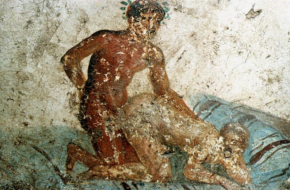 Lupanar: Pompeii Brothel Sex Paintings