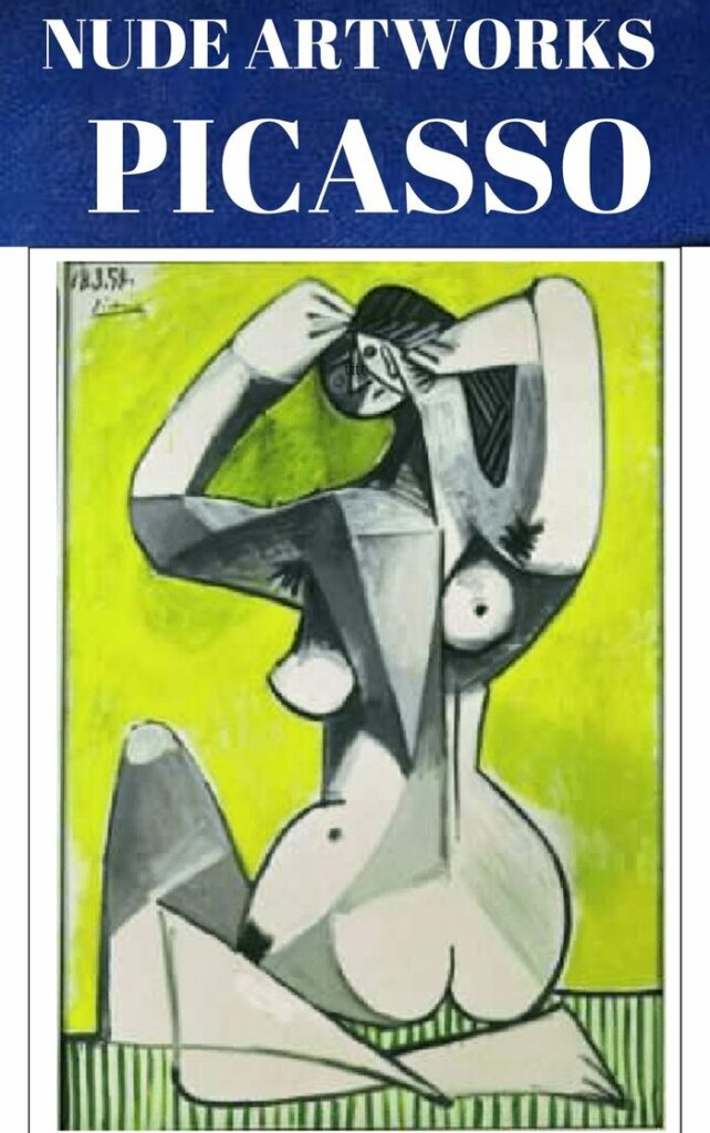 Pablo Picasso: Crouching Nude, 1954