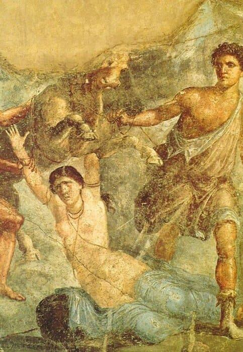 History of Tourism in Ancient Pompeii: Pompeii Erotic Mosaic