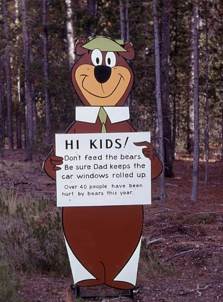 History of Tourism: National Parks & Yogi Bear in Yellowstone