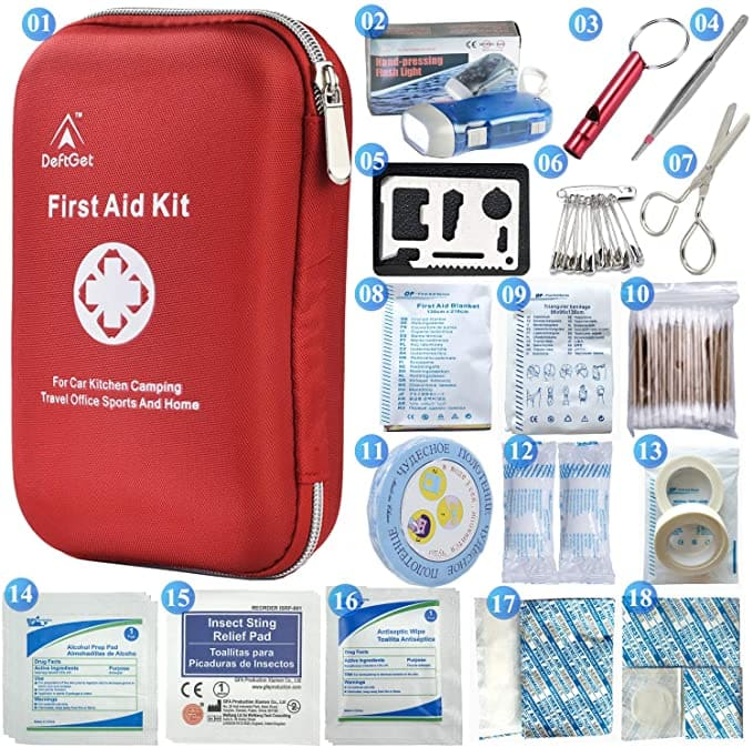 First Aid Kit - Trekking and Hiking tips -Should I bring a First Aid Kit? You always have to carry a small first-aid kit with the basics.