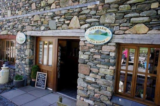 Lake District UK National Park Sykes Farm Tea Rom