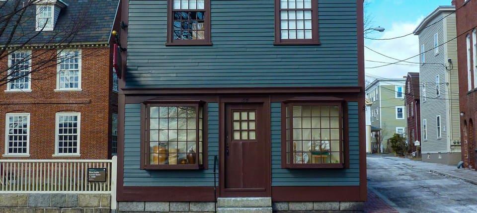 West India Goods Store (1804) -Salem Maritime National Historic