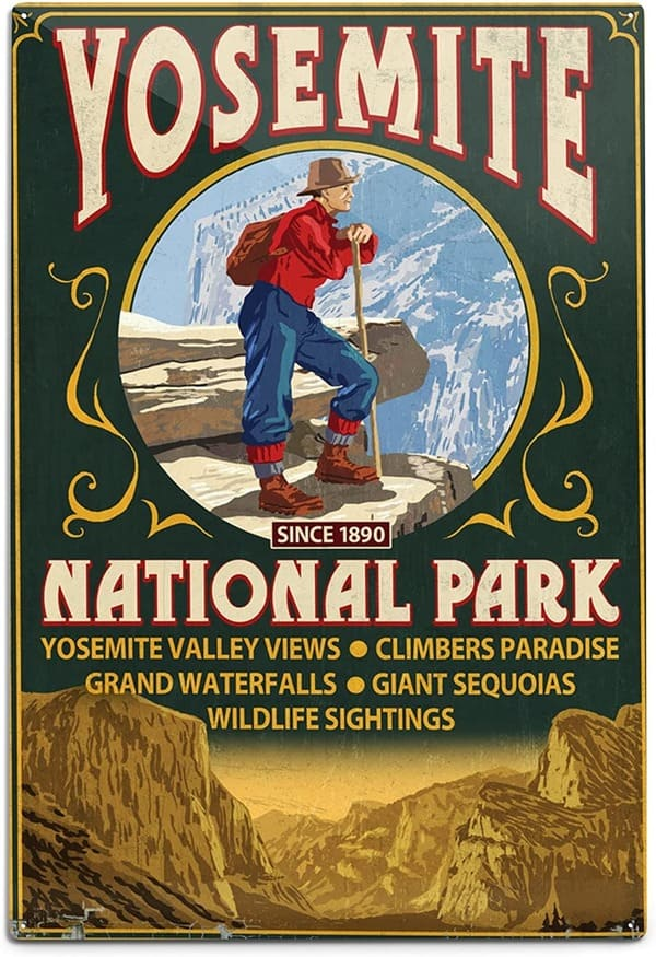 Hiking Safe on Yosemite - Search and Rescue Site Program