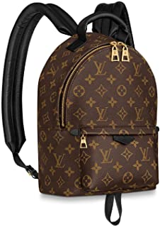 """Louis Vuitton Palm Springs Mini Backpack #LV -Zipper closure 20"""" shoulder drop Authentic and Brand New 6.69 x 8.66 x 3.94 inches (Length x Height x Width) #Monogram coated canvas, Soft cowhide trim with foam backing, Textile lining #vuitton #gits #christmas"""