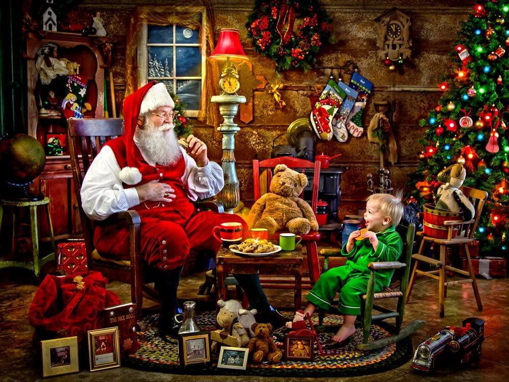 Christmas Jigsaw Puzzle - 500 - 1000 Piece #Jigsaw #Puzzle #poster #prints #photo #DiY #vintage #toys