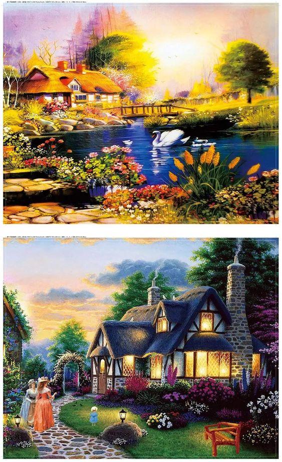 Puzzles & Jigsaw- 500- 1000 Piece #Jigsaw #Puzzle #poster #prints #photo #DiY #vintage #toys #photo #photoftheday #Love #Landscape #toys #ravensburg