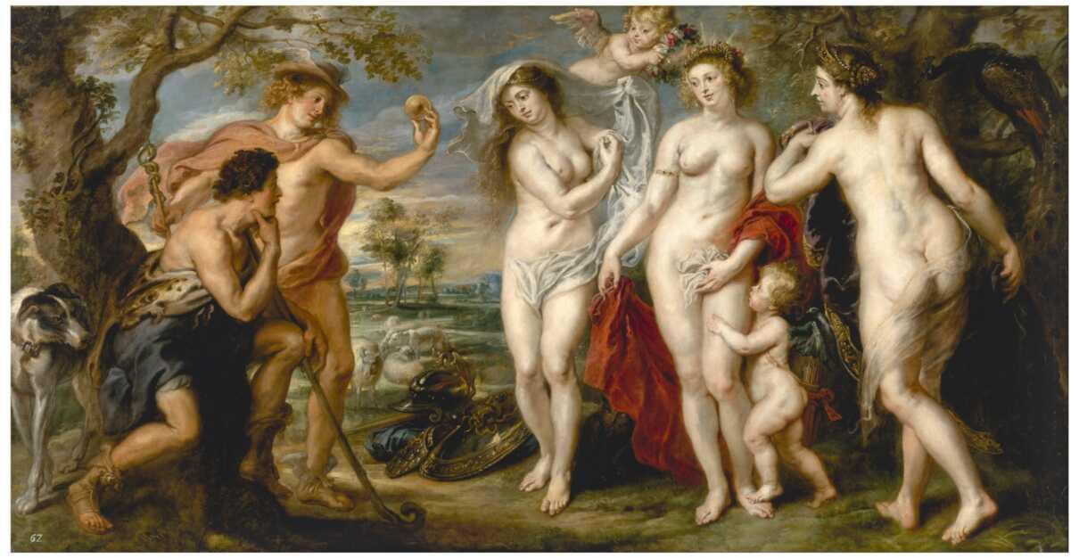 The Judgement Of Paris - Peter Paul Rubens - National Gallery London