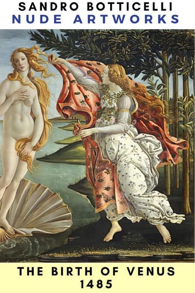 The Birth of Venus (1484). Tempera on canvas, 184.5 x 285.5 cm, Uffizi, Florence