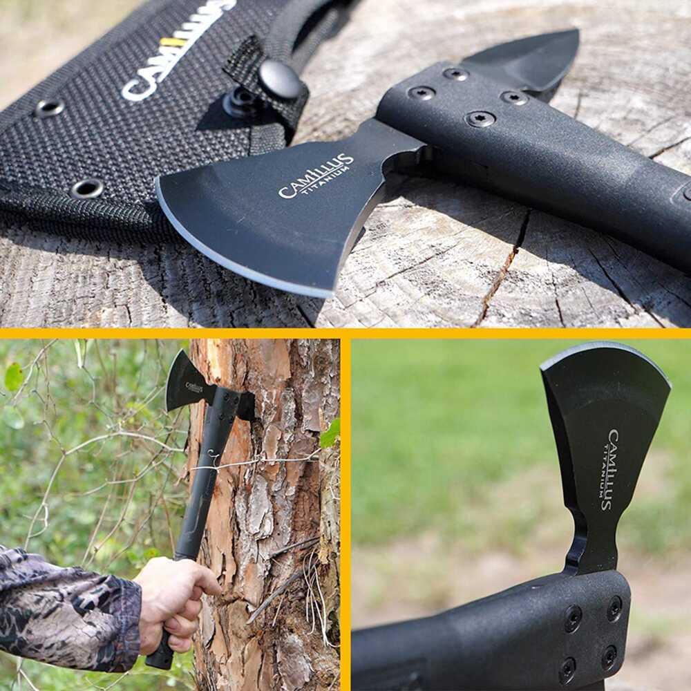 """Camillus Cirque 7"""" Folding Knife, Green Knives survival camping autdoor"""