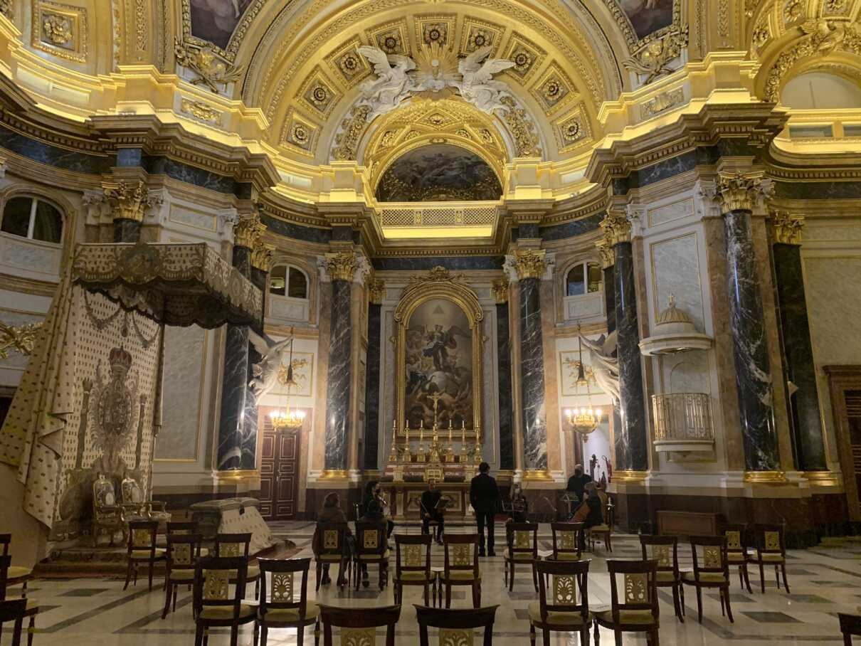 Madrid in Three Days: First Day -  Real Palace Chapelle