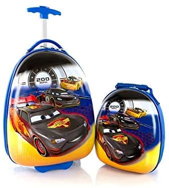 Disney Store: Pixar Cars 17 inches: -Lightning McQueen Shape #Luggage #gifts #toy #christmas