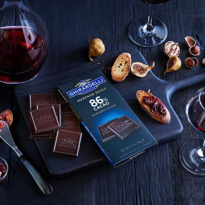 Ghirardelli, Intense Dark Chocolate Squares Bag, 86% Cacao Midnight Reverie