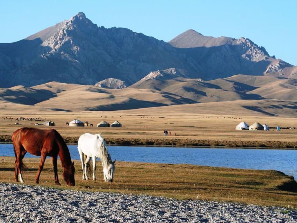 Kyrgyzstan in Central Asia