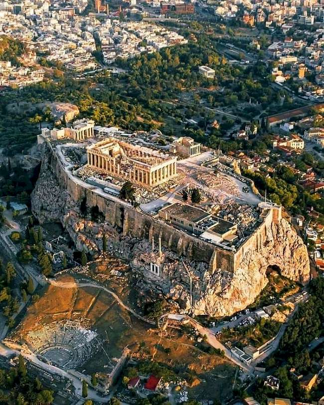 Acropolis - Atenas - Tourism in Ancient Greece and Rome
