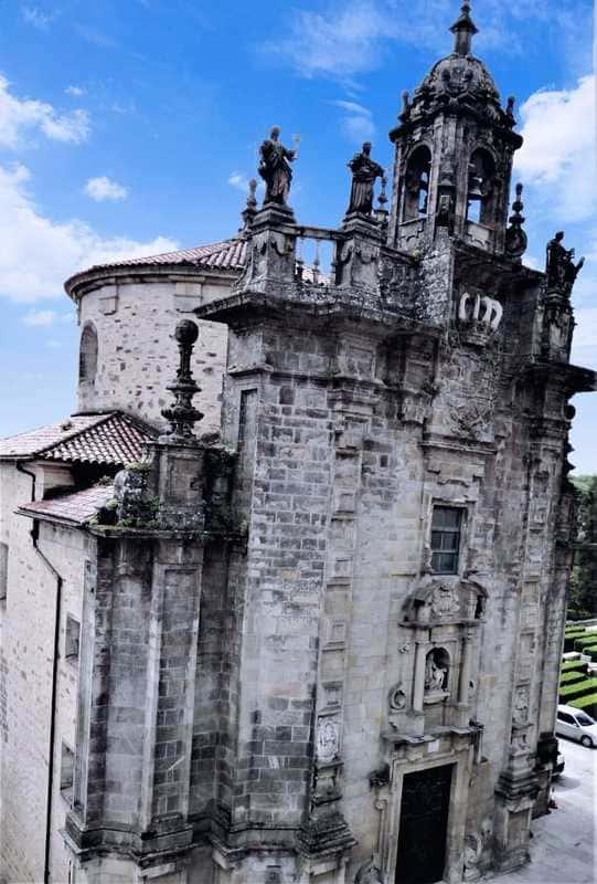 Santiago de Compostela - Obradoiro Square - Spain - Tourism in the medieval period