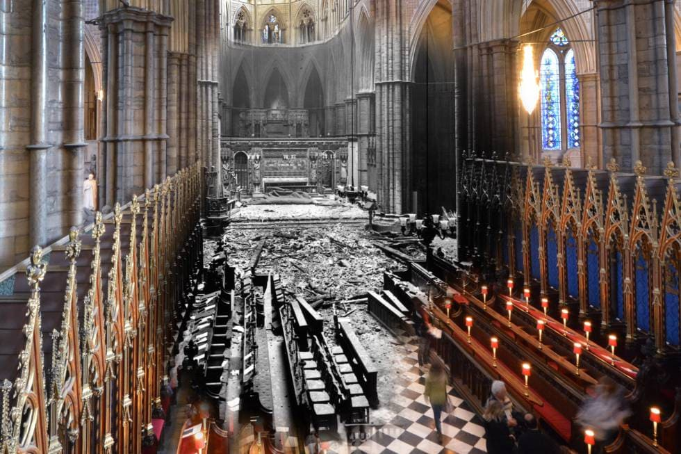 What was London Like in 1940? - Westminster Abbey