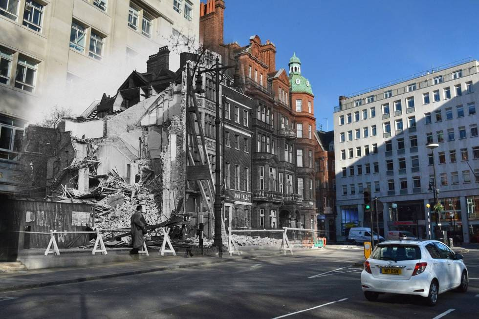 Berkeley Square - What was London Like in 1940?
