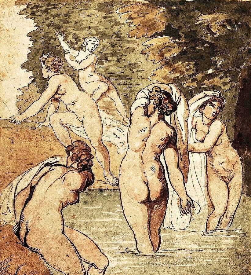 Thomas Rowlandson Nude Draws