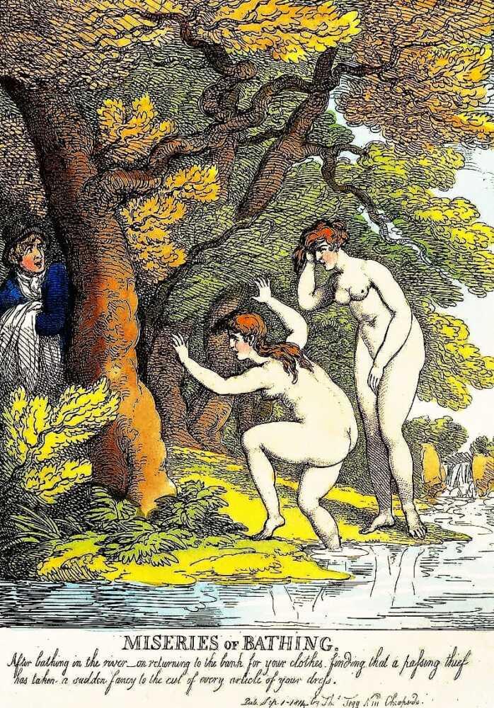 Thomas Rowlandson Erotic Draws