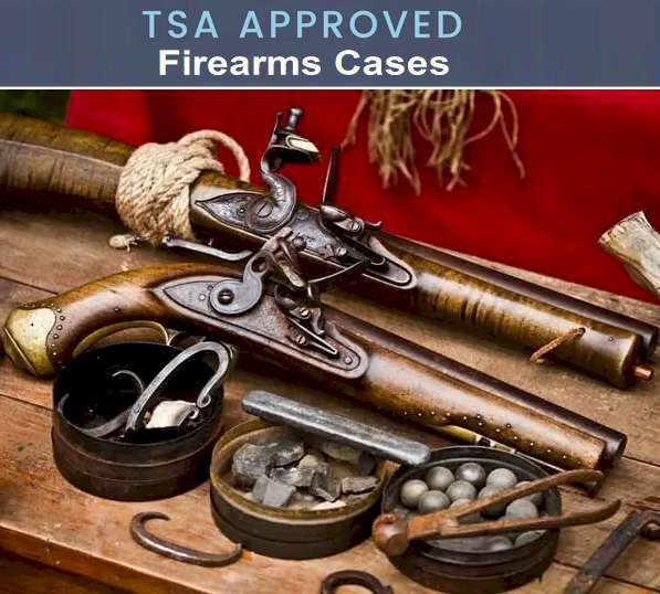 Firearms TSA Rules 2021 - What can you bring on a plane? Firearms case on Amazon