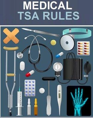 Medical Gear on Amazon - TSA medication rules 2021