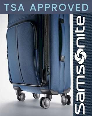 Samsonite luggage TSA Approved