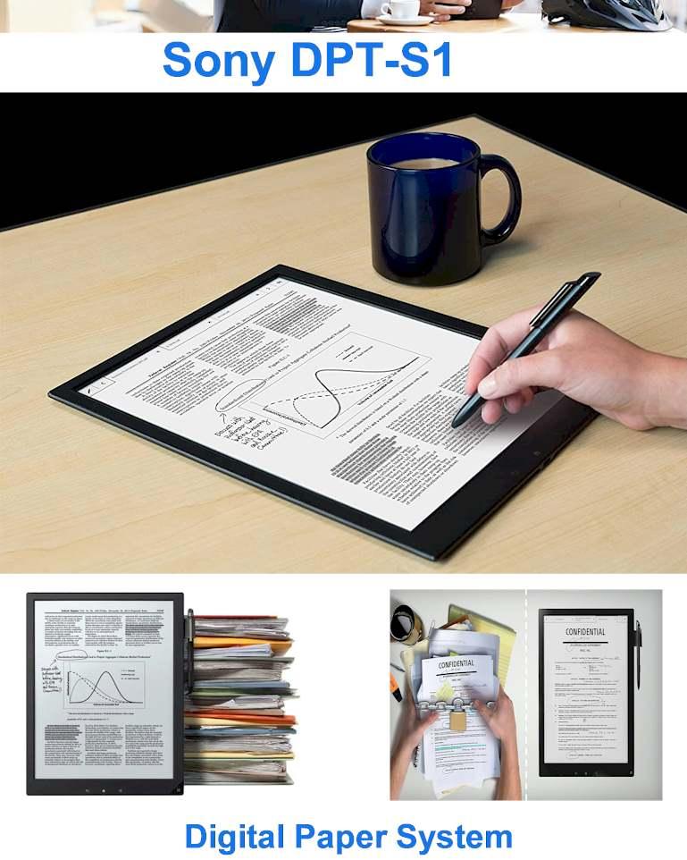 Best Paper Tablet 2021 - Digital Paper Sony DPT-S 1