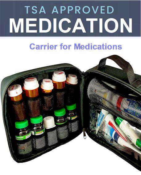 TSA medication rules 2021 - TSA Carrier Pills