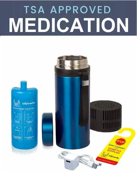 TSA medication rules 2021 - TSA diabetes Rules - TSA insulin cold pack