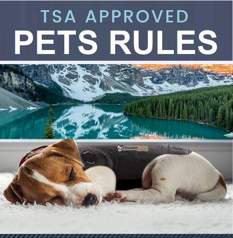 TSA Pets Rules 2021