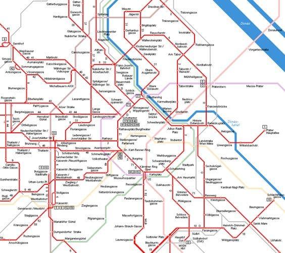 Public Transport in Vienna 2021