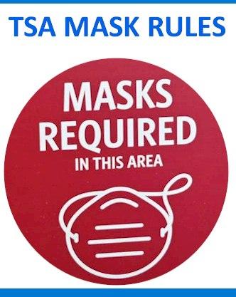 TSA Mask Rules: Doubles Fines