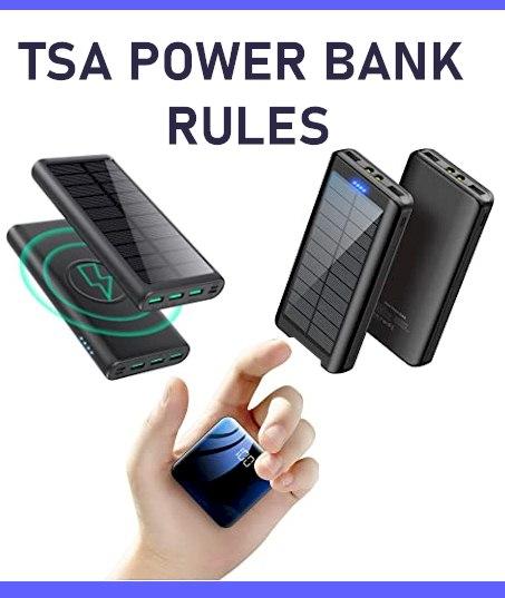 TSA Power Banks Rules