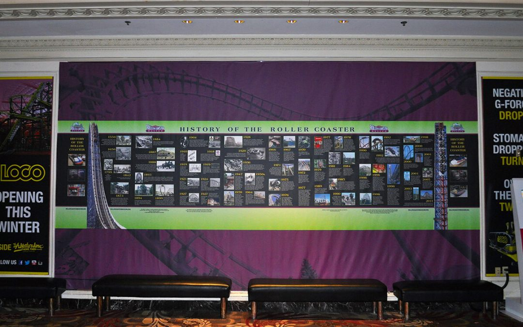 Exhibits 2014 History of the Roller Coaster Timeline