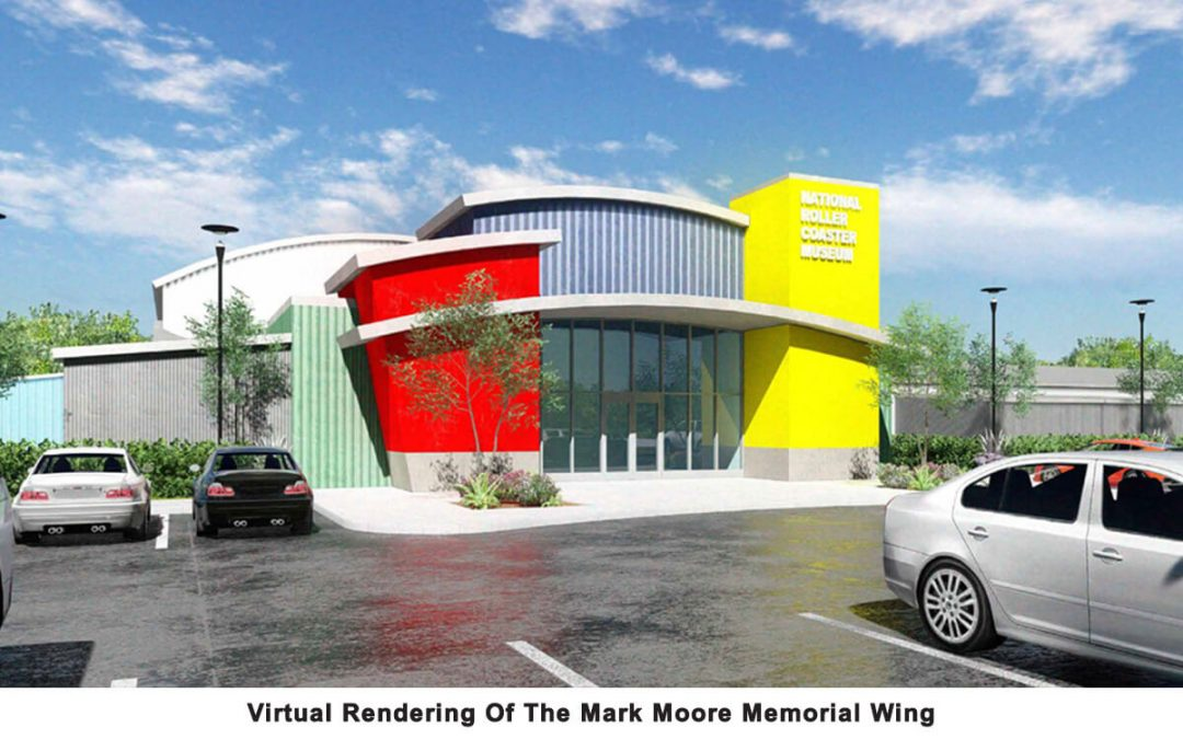 National Roller Coaster Museum To Expand With Mark Moore Memorial Wing