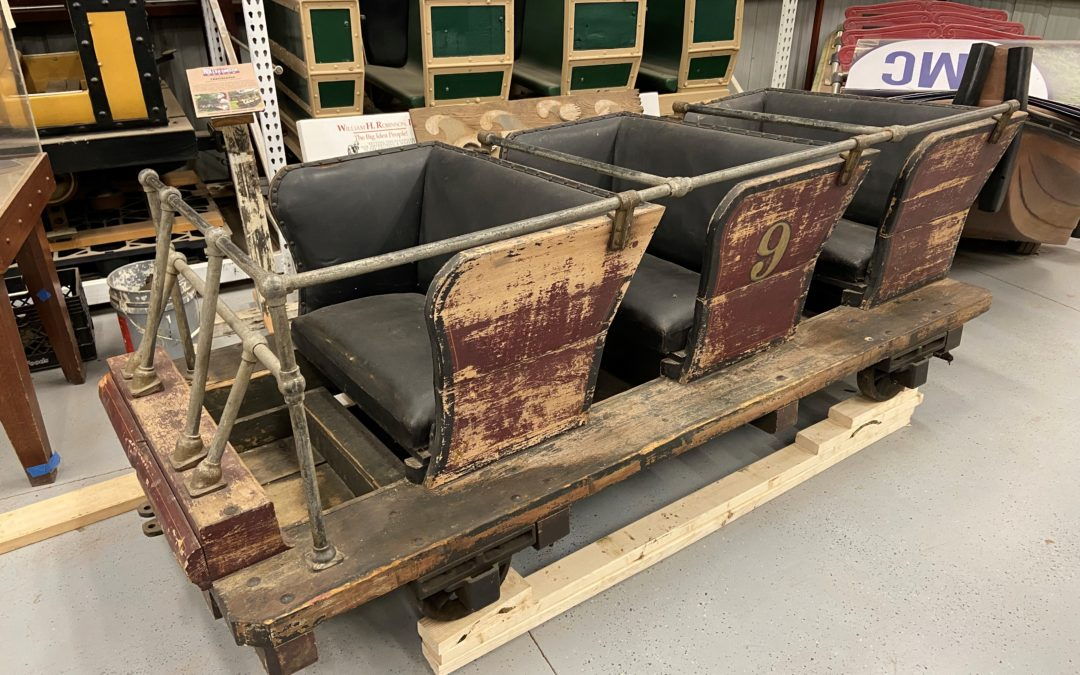 NATIONAL ROLLER COASTER MUSEUM RECEIVES HISTORIC COASTER CAR