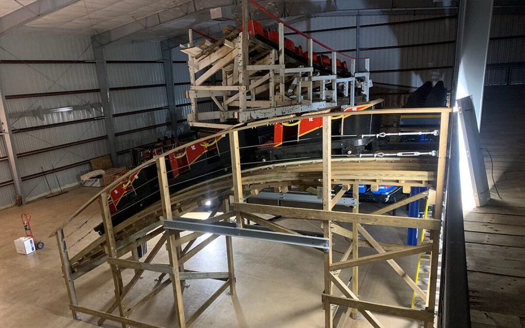 Largest Expansion Nears Completion at National Roller Coaster Museum