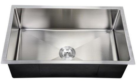 "PerfecFlo™ 10"" Deep Small Radius Sink Drain"
