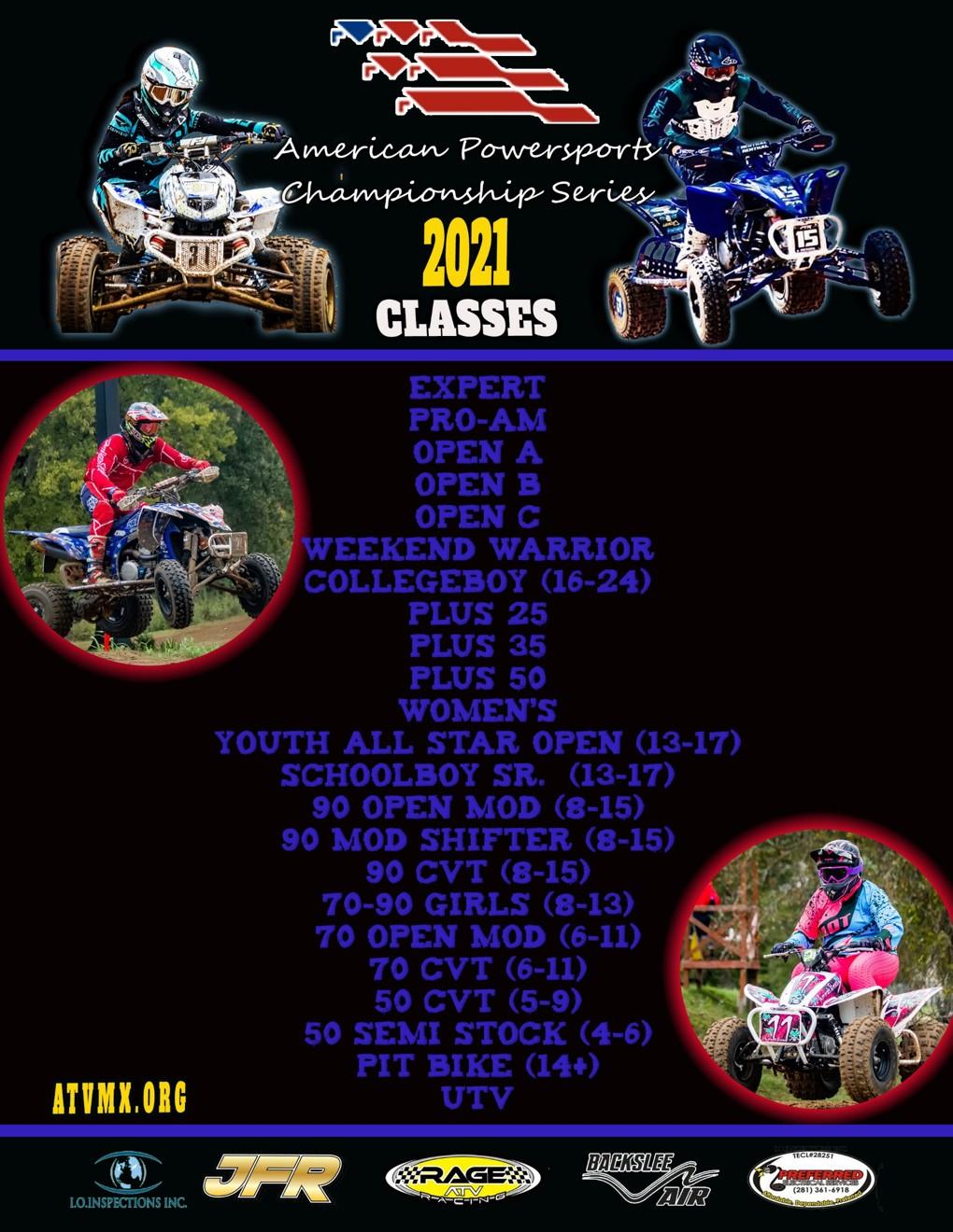 APCS 2021 CLASS LIST