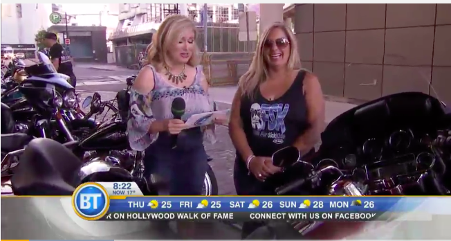 Throwback to the Ride for SickKids on BT in 2015!